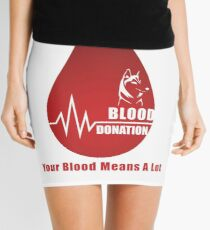World Blood Donor Day Mini Skirt