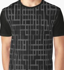 Black and white lines 3 Graphic T-Shirt