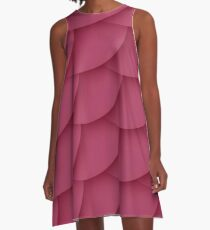 Pink Scales Dress A-Line Dress