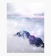 Mountain Clouds Photographic Print