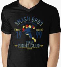 Port town Fighter Men's V-Neck T-Shirt