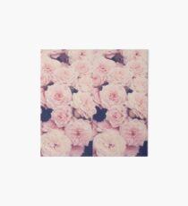 Pink Roses Art Board
