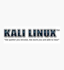 Kali Linux Photographic Print