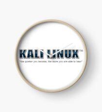 Kali Linux Clock