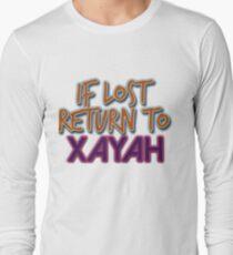 Camiseta de manga larga Si se pierde, vuelve a Xayah