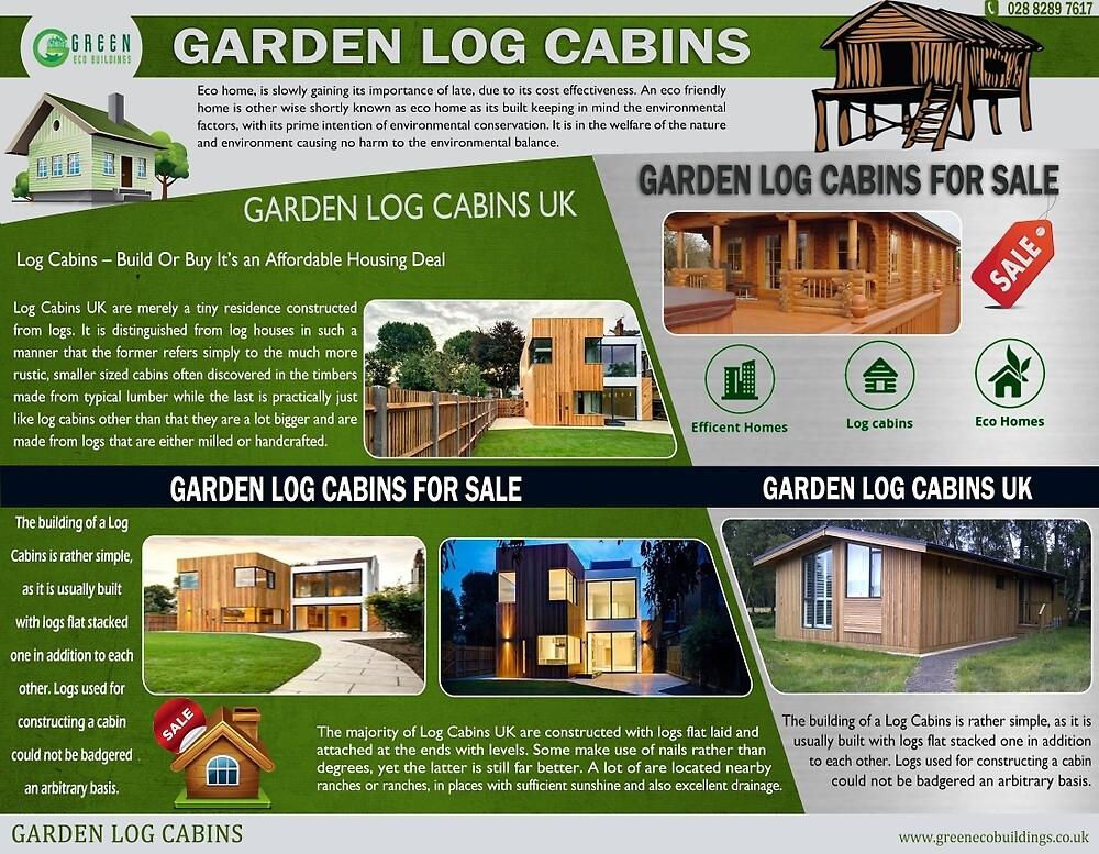 Garden Log Cabins UK by Log-Cabins