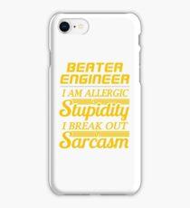 beater engineer iPhone Case/Skin
