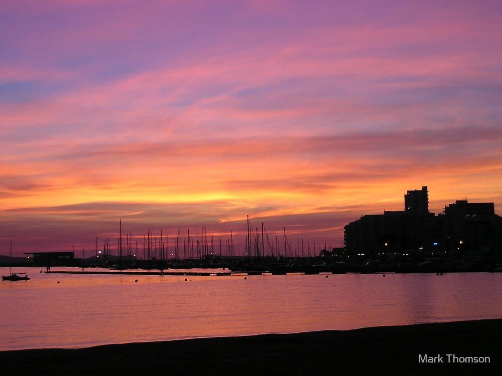 Ibiza Sunset by Mark Thomson