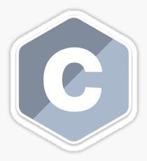 C Programing Language Sticker