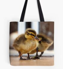 Boy... I Think I Ate Far Too Much... - Ducklings - NZ Tote Bag