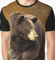 The Bear Went Over The Mountain Graphic T-Shirt