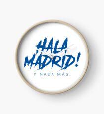 Hala Madrid Clock