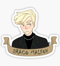 Draco Malfoy Drawing Stickers Redbubble