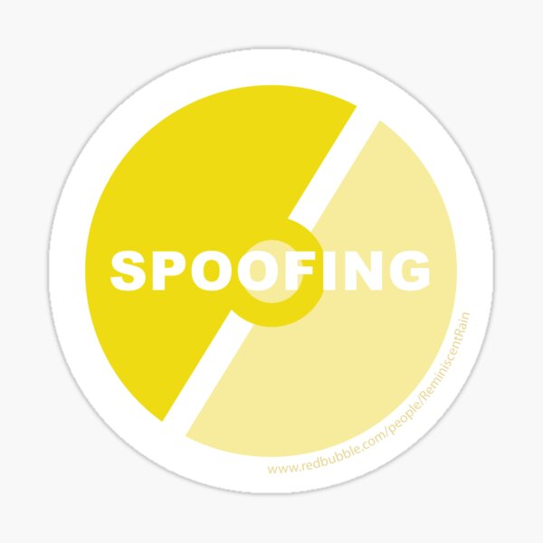 Team Instinct Against Spoofing Sticker