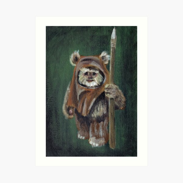 Wicket the Ewok Art Print