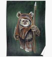 Wicket the Ewok Poster