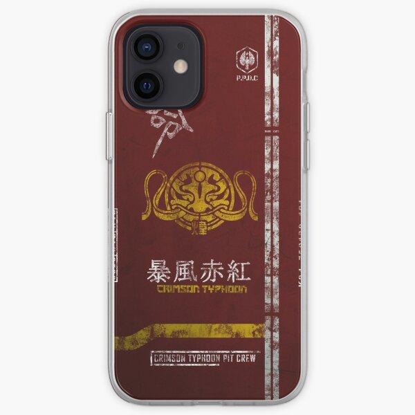 Crimson Typhoon Pit Crew Case iPhone Soft Case