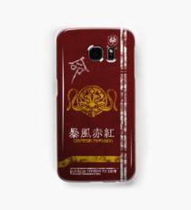 Crimson Typhoon Pit Crew Case Samsung Galaxy Case/Skin