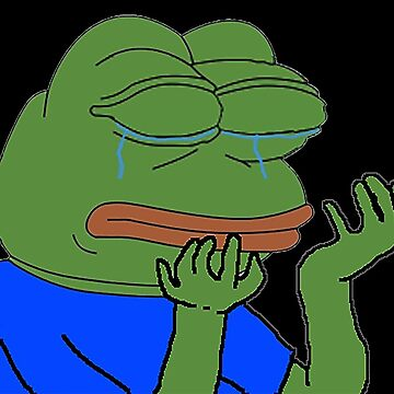 Sad Pepe by Weeev