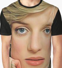 Princess Diana - Celebrity (Oil Paint Art) Graphic T-Shirt