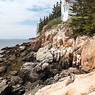 Bass Harbor Head Light, Acadia National Park, Maine by Harv Churchill