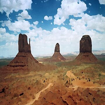 Monument valley by pautrat