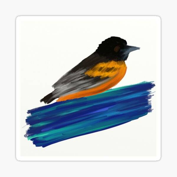Baltimore Oriole  Sticker