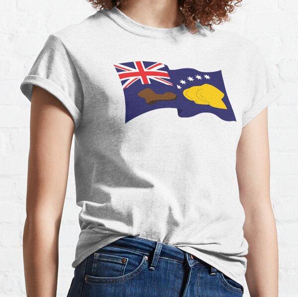 Australian Booting Flag  Classic T-Shirt