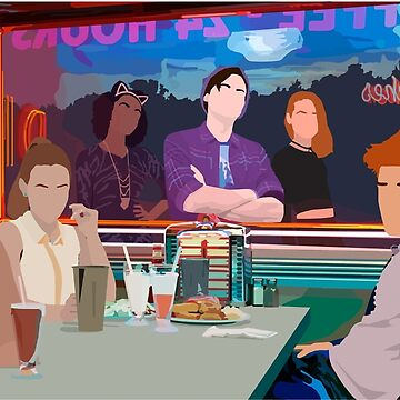 Riverdale Pop's Diner Vector Art by mollypushman