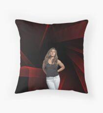 Ronda Rousey - Celebrity (Oil Paint Art) Disco Style Throw Pillow