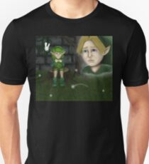 Link and Saria Unisex T-Shirt