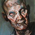 portrait of zombie by Hidemi Tada