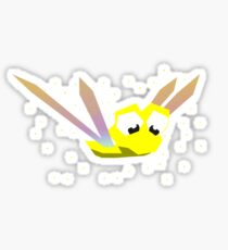 Sparx the dragonfly Sticker