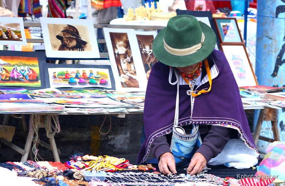 Market Seller by Kphotographer