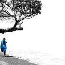 Blue Towel by Dan Jesperson