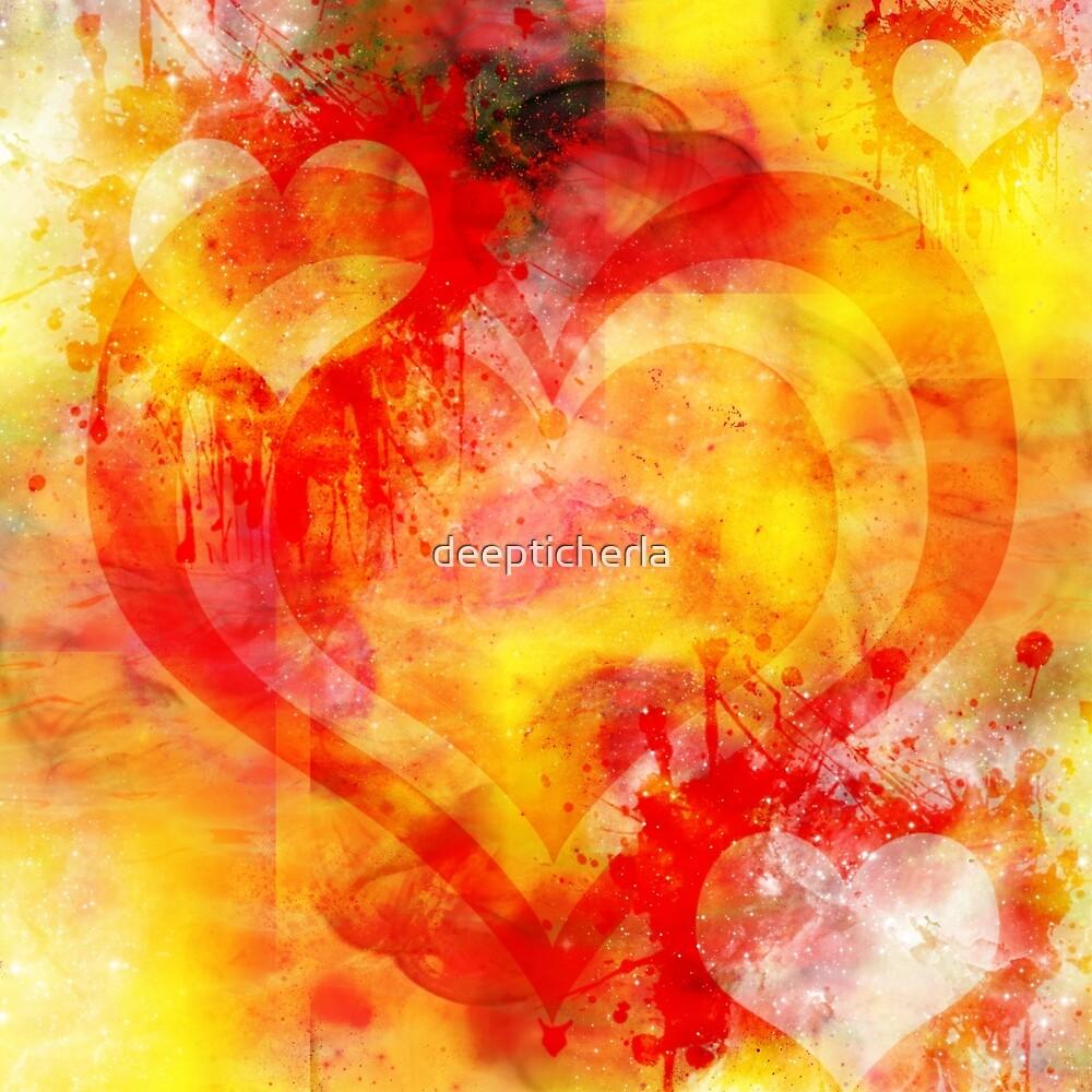 abstract heart by deepticherla