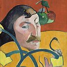 Self Portrait of Paul Gauguin by Vintage Works