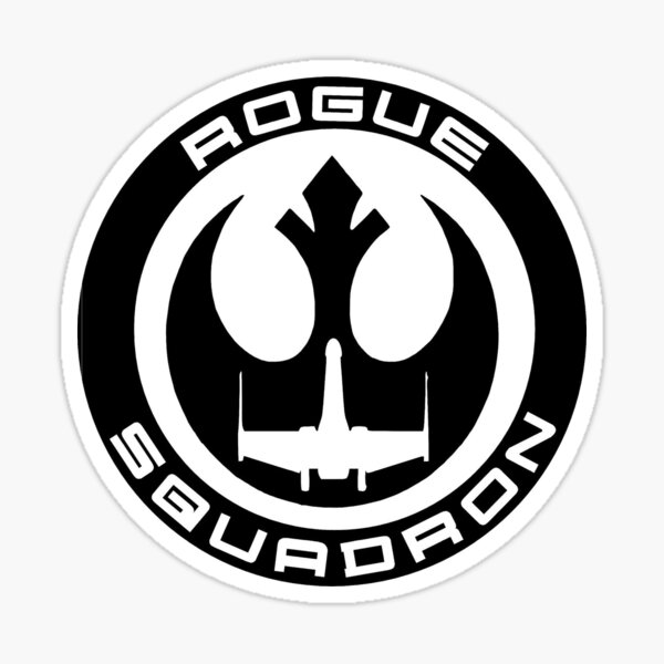 Team Rogue Squadron Sticker