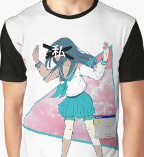 Camiseta gráfica Anime