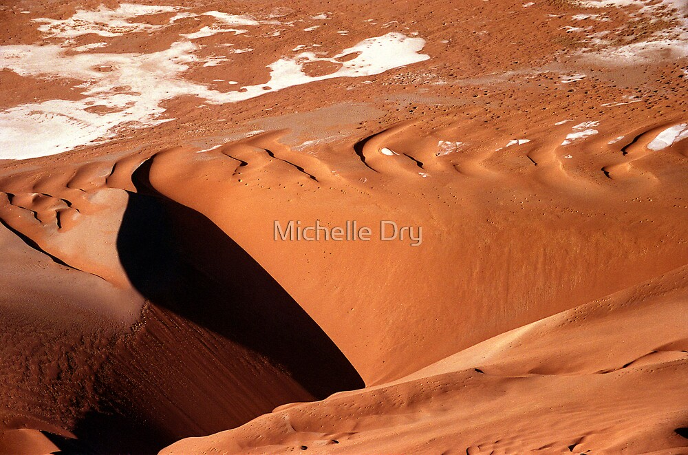 Dune aerial by Michelle Dry