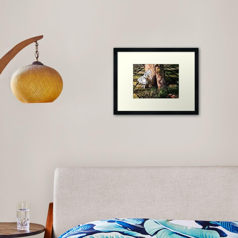 The Fairy Tree Framed Art Print
