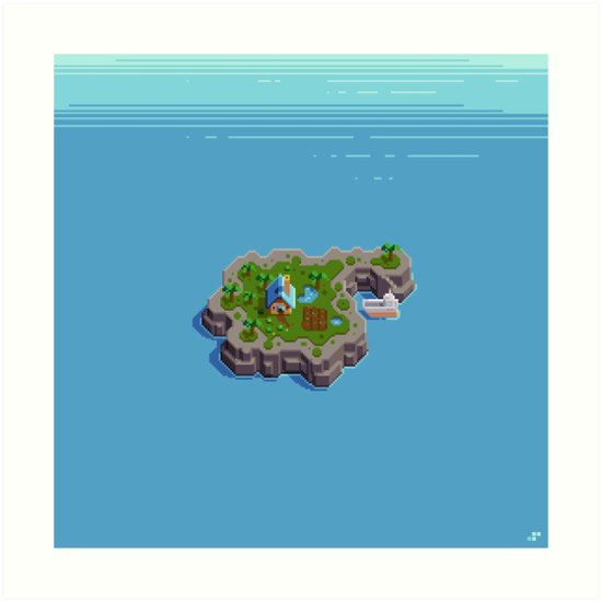 Cozy Island by Slynyrd