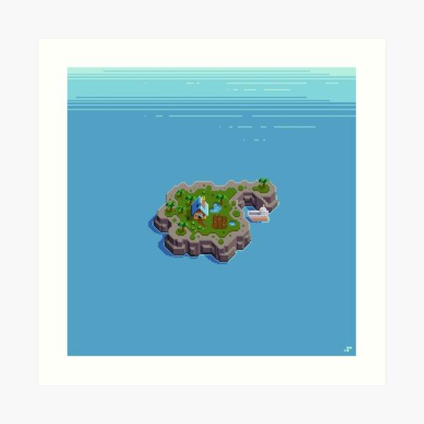 Cozy Island Art Print