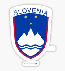 Slovenia Sovereign Sticker