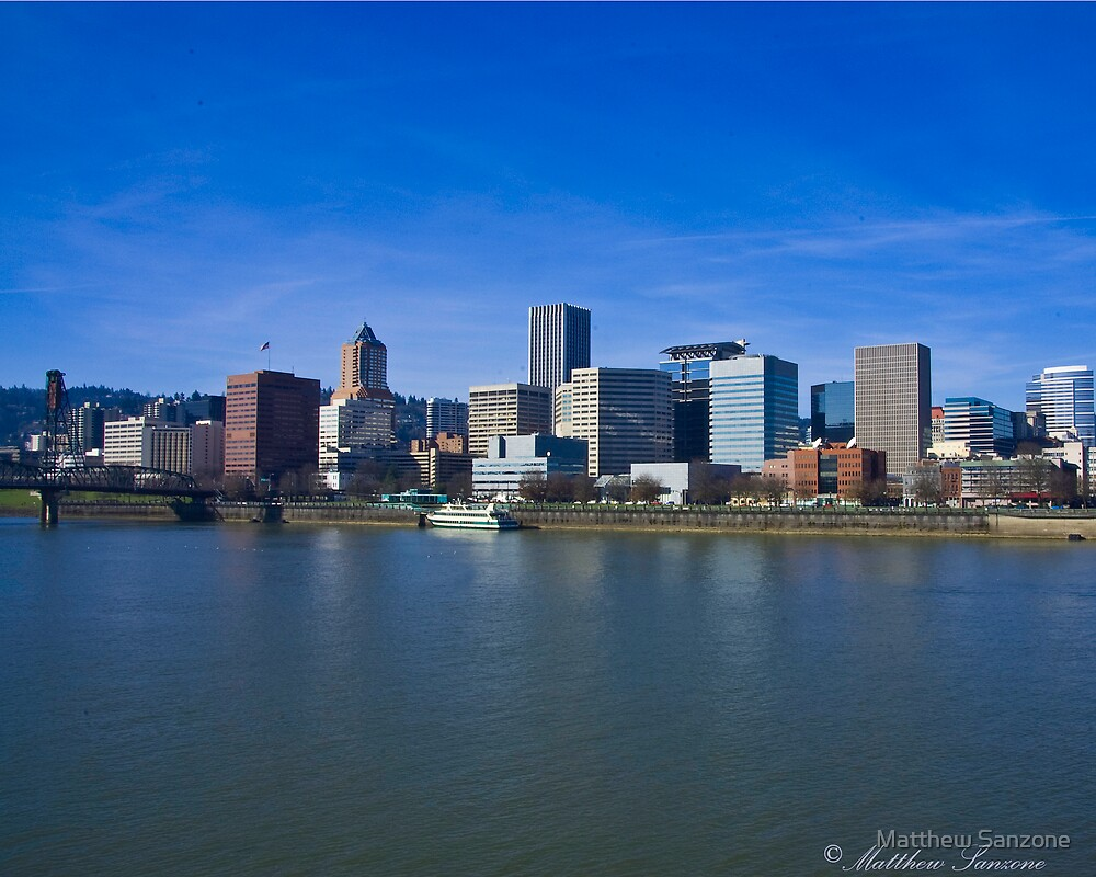 Downtown Portland by Matthew Sanzone