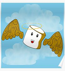Angelic Marshmallow Poster