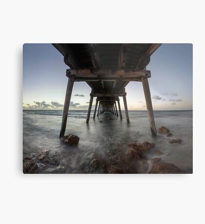 Port Hughes Jetty Metal Print