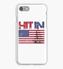 HIT IN USA iPhone Case/Skin