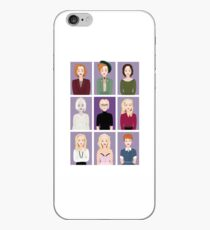 Gillian Anderson - Characters iPhone Case
