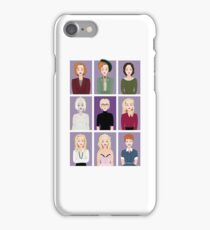 Gillian Anderson - Characters iPhone Case/Skin